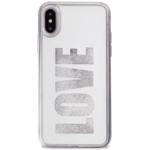 aqua love - etui iphone x (white) marki Puro