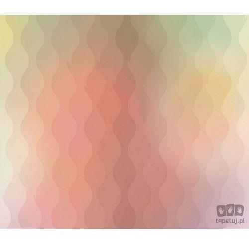 Fototapeta Fale – wzory w ciepłych kolorach letniego słońca 1415