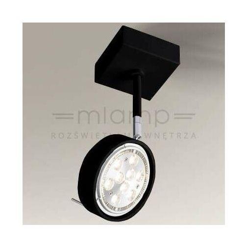 Spot LAMPA sufitowa FUSSA 2218/G53/CZ Shilo metalowa OPRAWA reflektorowa SPOT regulowany czarny (1000000338416)
