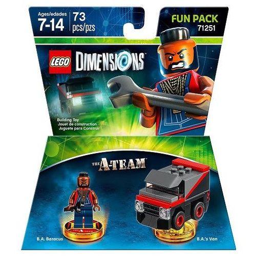 Avalanche studios Lego dimensions-fun pack 71251 - mr t drużyna a