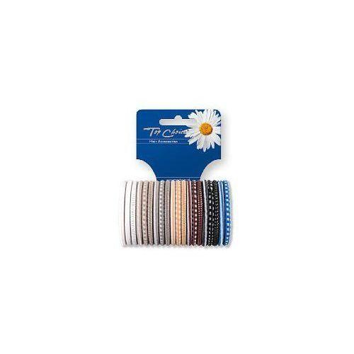 Top choice  akcesoria do włosów gumki do włosów mix 1op-20szt 22289 (5905710022289)