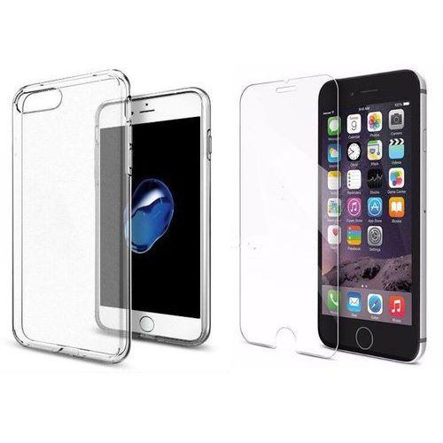 Sgp - spigen / perfect glass Zestaw | spigen sgp liquid crystal crystal clear | obudowa + szkło ochronne perfect glass dla modelu apple iphone 7 plus