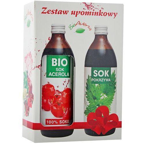 BIOAVENA Zestaw Sok Bio Acerola 500ml + Sok z pokrzywy 500ml | DARMOWA DOSTAWA OD 150 ZŁ! (5900000039961)