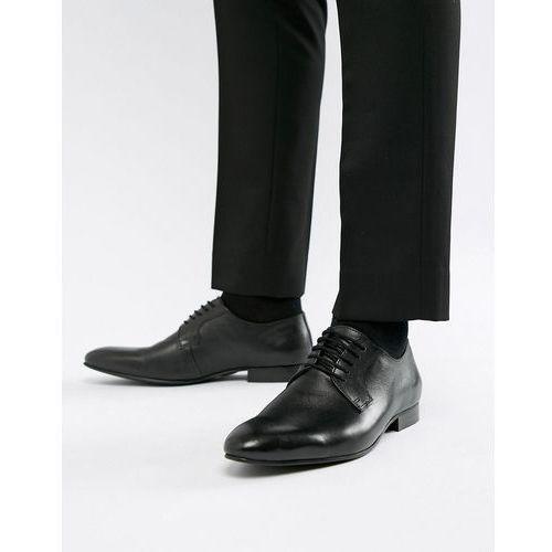 saffiano shoes in black leather - black marki Dune