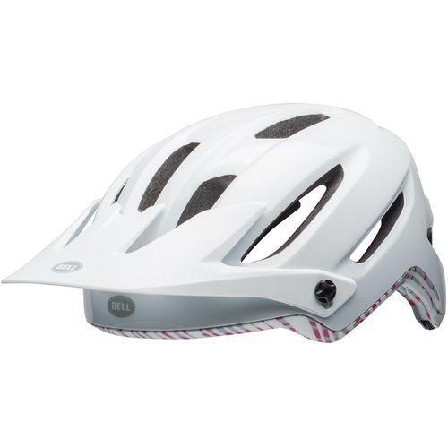 Bell kask rowerowy damski Hela Mat White/Cherry Fibres S (52-56 cm)