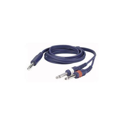 Kabel audio Jack stereo – 2 x Jack mono (kabel audio)