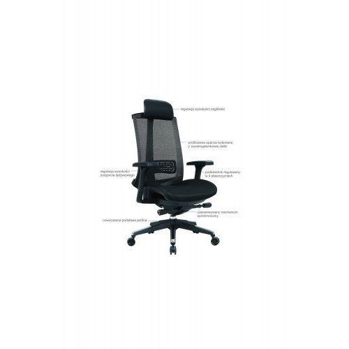 Fotel biurowy Navigator czarny, 1019