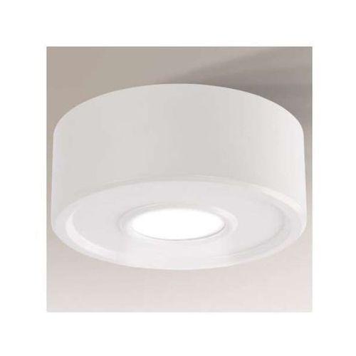 Plafon LAMPA sufitowa ENA IL 1234/LED/BI Shilo okrągła OPRAWA metalowa LED 8W biała