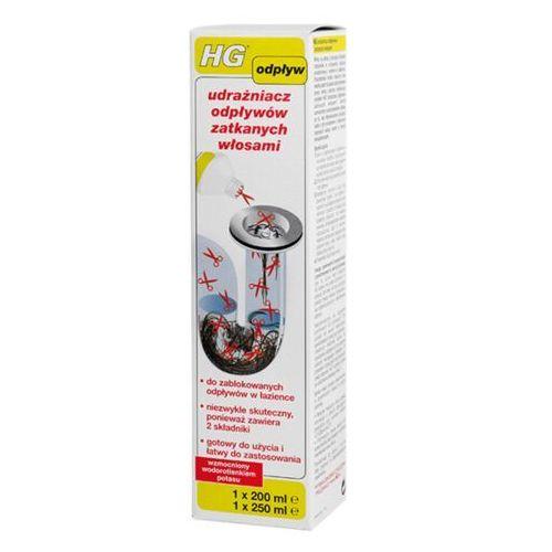 HG Środek do udrażniania rur zatkanych włosami 500 ml