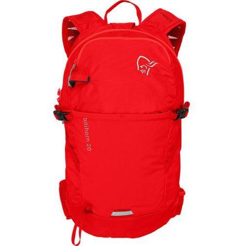 Norrøna bitihorn plecak 20l czerwony 2018 plecaki szkolne i turystyczne (7042698331601)