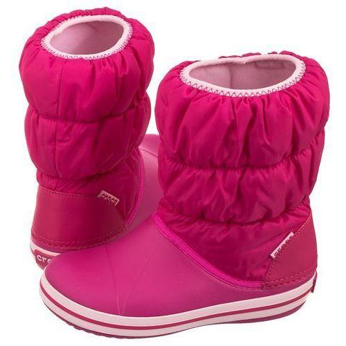 Śniegowce winter puff boot kids candy pink 14613-6x0 (cr61-d) marki Crocs