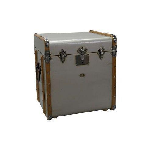 Authentic Models Kuferek/stolik Stateroom, srebrny MF079S