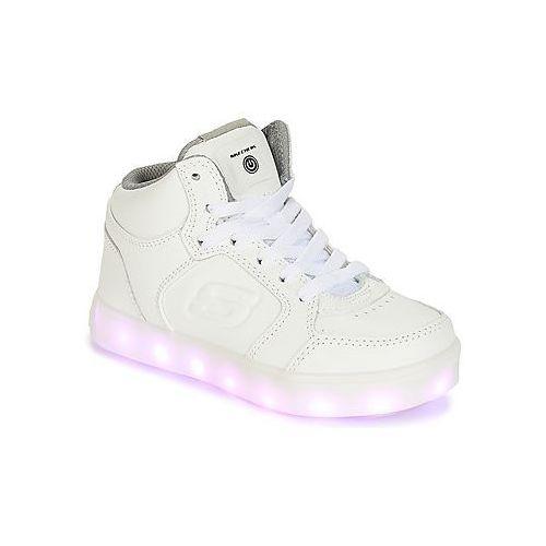 Trampki wysokie Skechers ENERGY LIGHTS, kolor biały