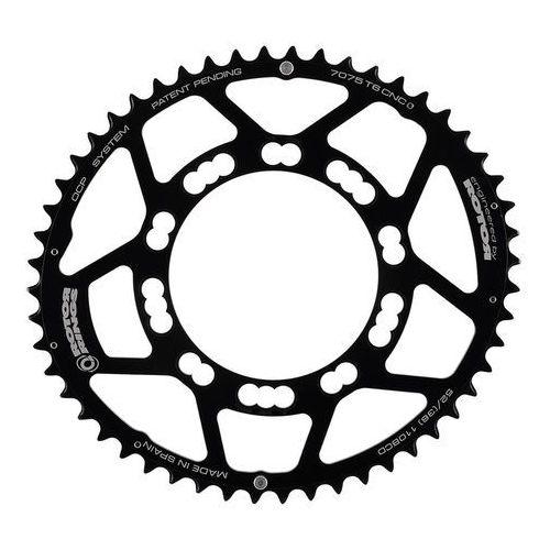 q-ring road zębatka rowerowa 110mm 5-ramienna zew. czarny 53 zębów 2018 zębatki przednie marki Rotor