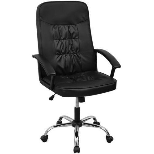 vidaXL vidalXL Krzesło biurowe Sztuczna skóra 67x70 cm Czarne (8718475965282)
