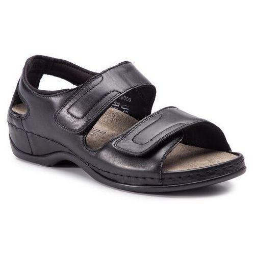 Sandały BERKEMANN - Elisha 01045 Schwarz 901, kolor czarny