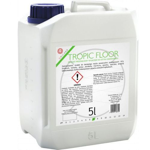 Gricard Luna floor m 5l - bieżące mycie, lekko konserwuje i nabłyszcza powierzchnię