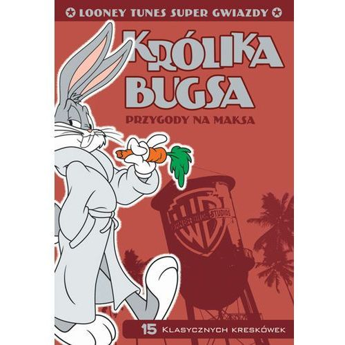 Film  looney tunes super gwiazdy: królika bugsa przygody na maksa looney tunes super stars bugs bunny hare extraordinaire marki Galapagos