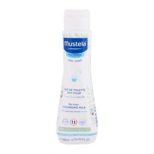 bébé no rinse cleansing milk mleczko do ciała 200 ml dla dzieci marki Mustela