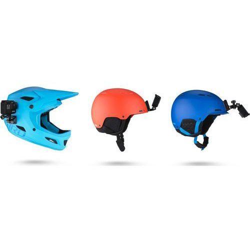 Gopro uchwyt na kask helmet front + side mount (przedni i boczny) (ahfsm-001)