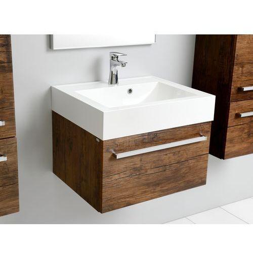 Antado Spektra Szafka podumywalkowa wisząca 60x50x33 stare drewno FDF-442/6GT-50 - produkt z kategorii- Szafki łazienkowe
