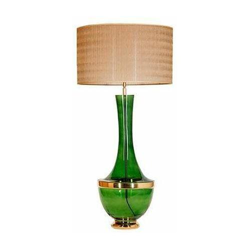4concepts 4 concepts troya green l232272317 lampa stojąca podłogowa 1x60w e27 złoty
