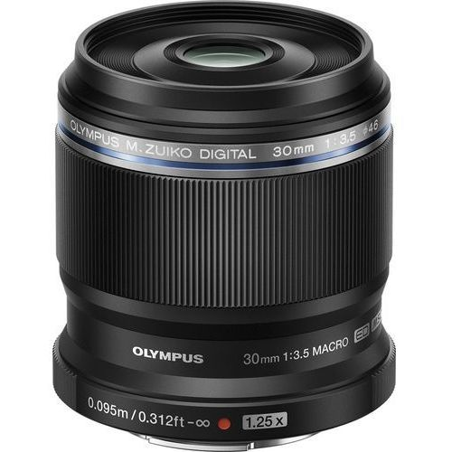 Olympus Obiektyw m.zuiko digital ed 30mm 1:3.5 macro (4545350049966)