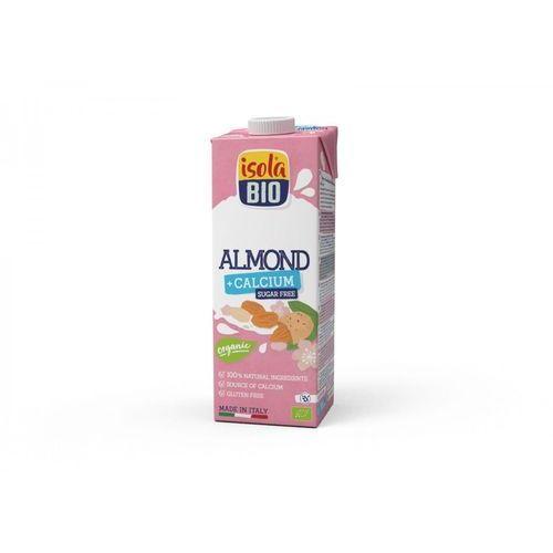 Napój migdałowy bez cukru z wapniem bezglutenowy bio 1 l marki Isola bio