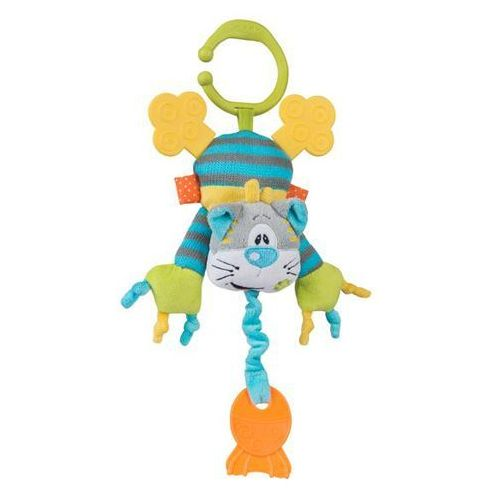 Babyono zabawka edukacyjna z zawieszkkotek 26/30 cm (5901435404720)
