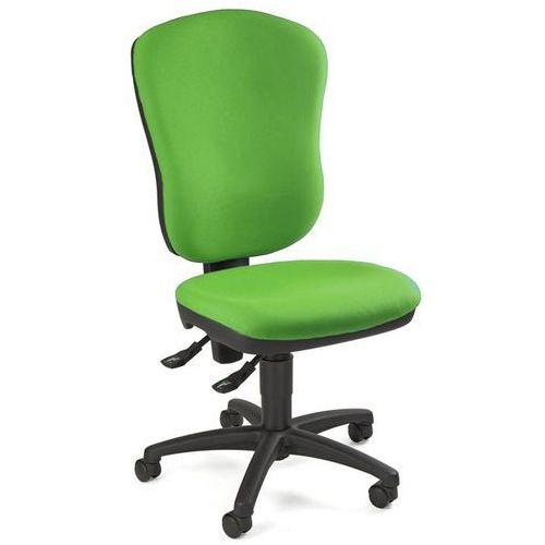 Topstar Standardowe krzesło obrotowe, bez poręczy, z podpórką lędźwi, wys. oparcia 600 m