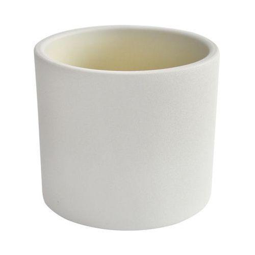 Osłonka ceramiczna 28 cm biała WALEC (5906750943909)