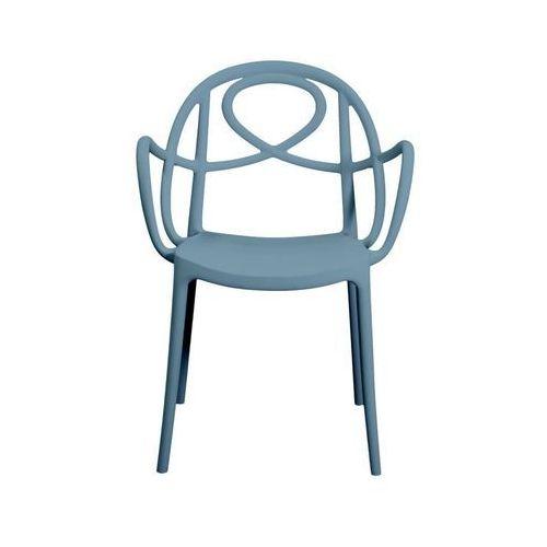 Krzesło ogrodowe etoile p niebieskie marki Green