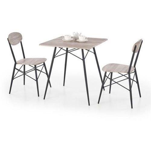 Zestaw stołowy HALMAR KABIR kwadrat - stół + 2 krzesła, Halmar