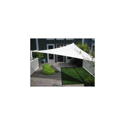Żagiel przeciwsłoneczny ogrodowy trójkąt 5mx5m szary dobrebaseny. Najniższe ceny, najlepsze promocje w sklepach, opinie.