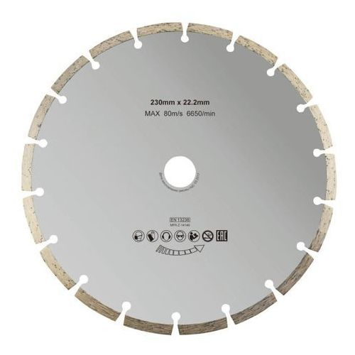 Tarcza diamentowa segmentowa 230 mm (3663602811756)