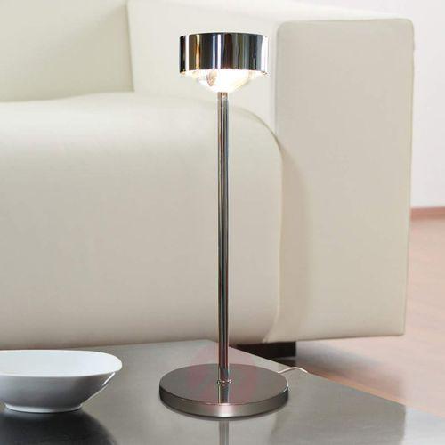 Top light Elegancka lampa stołowa puk eye, chrom
