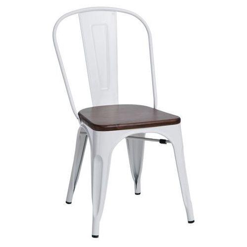 D2.design Krzesło paris wood białe sosna orzech modern house bogata chata