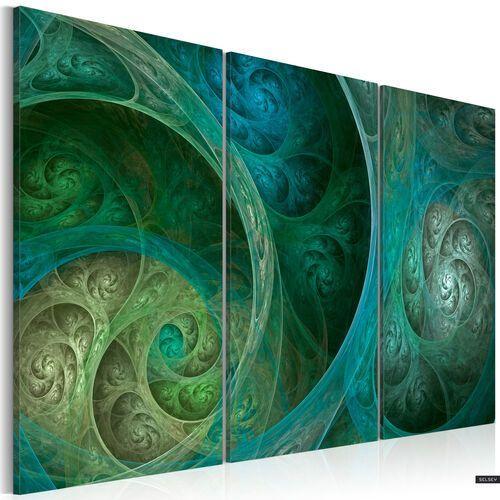 Selsey obraz - inspiracja orientem w turkusie 120x80 cm