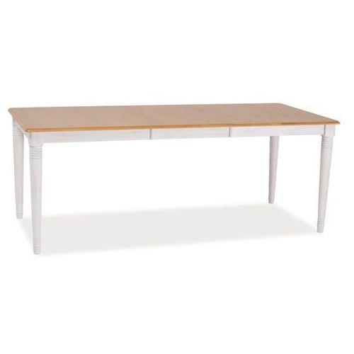 Stół rozkładany fado ii white 90 x 150 marki Signal