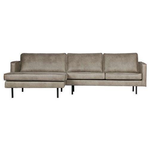Be pure sofa narożna lewostronna rodeo kolor skóra słonia 800905-105 (8714713083282)