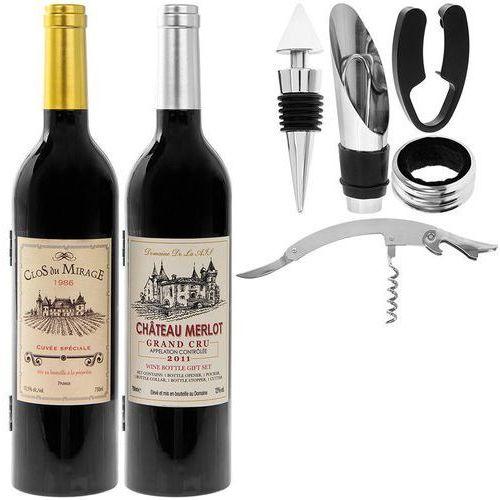 Zestaw do wina (mix 2 wzorów)