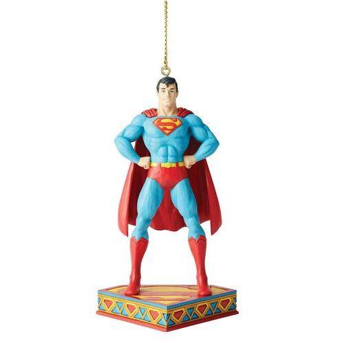 Jim shore Superman bajkowa zawieszka superman silver age hanging ornament 6005071 figurka ozdoba świąteczna