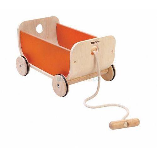 Wózek -wagon pomarańczowy, Plan Toys PLTO-8614 (8854740086143)