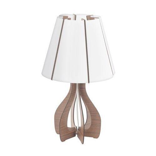 Eglo 94954 - lampa stołowa cossano 1xe27/60w/230v