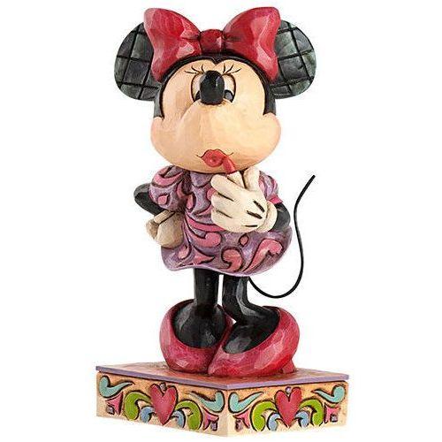 Jim shore Myszka mini mouse i szminka 4031476 bajki disney