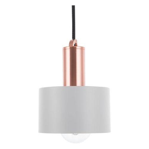 Lampa wisząca szara narcea marki Beliani