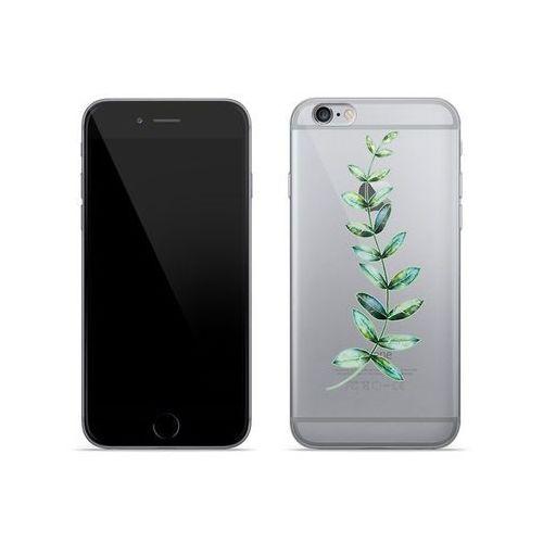 Apple iPhone 6 - etui na telefon Crystal Design - Zielona gałązka
