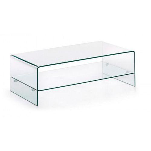 Stolik szklany IDEAL MEDIO - szkło transparentne, CB-020 (7812577)