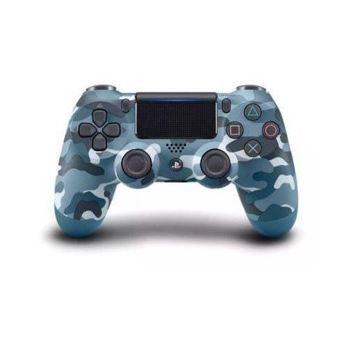 Sony interactive entertainment Kontroler bezprzewodowy sony playstation dualshock 4 v2 niebieski moro (0711719725817)