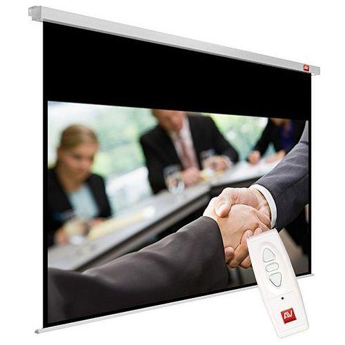 Avtek Ekran elektryczny 270x220cm business electric 270 - matt white (ramki 5cm + top 52,5cm, obraz 260x162,5 cm)
